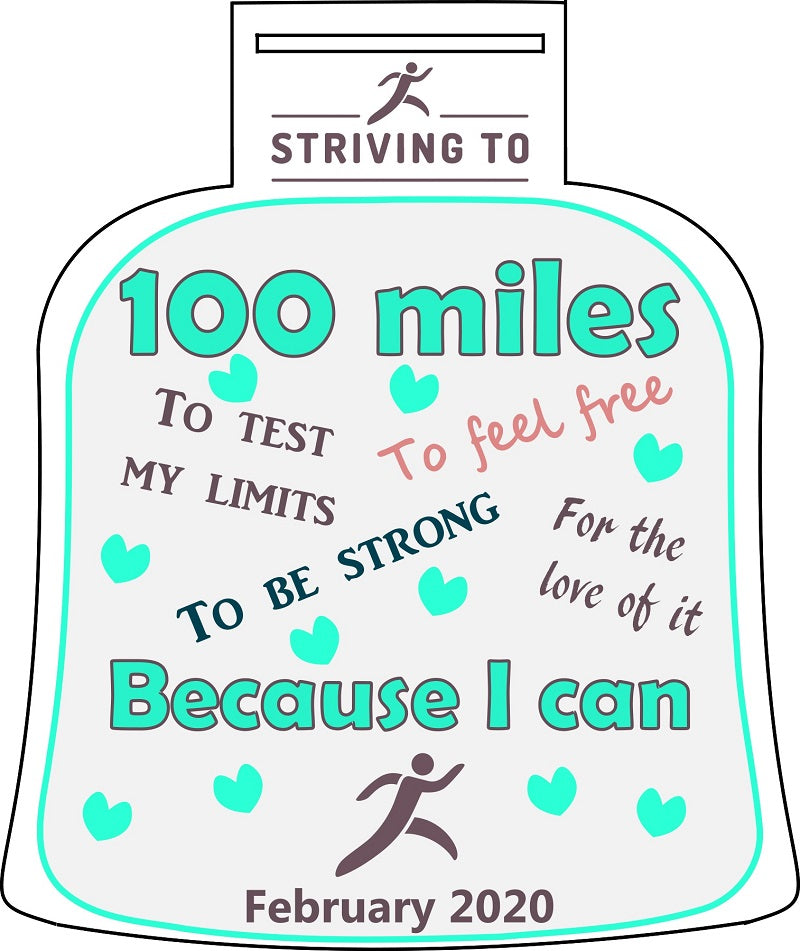 100 Miles - Striving To... Because I can