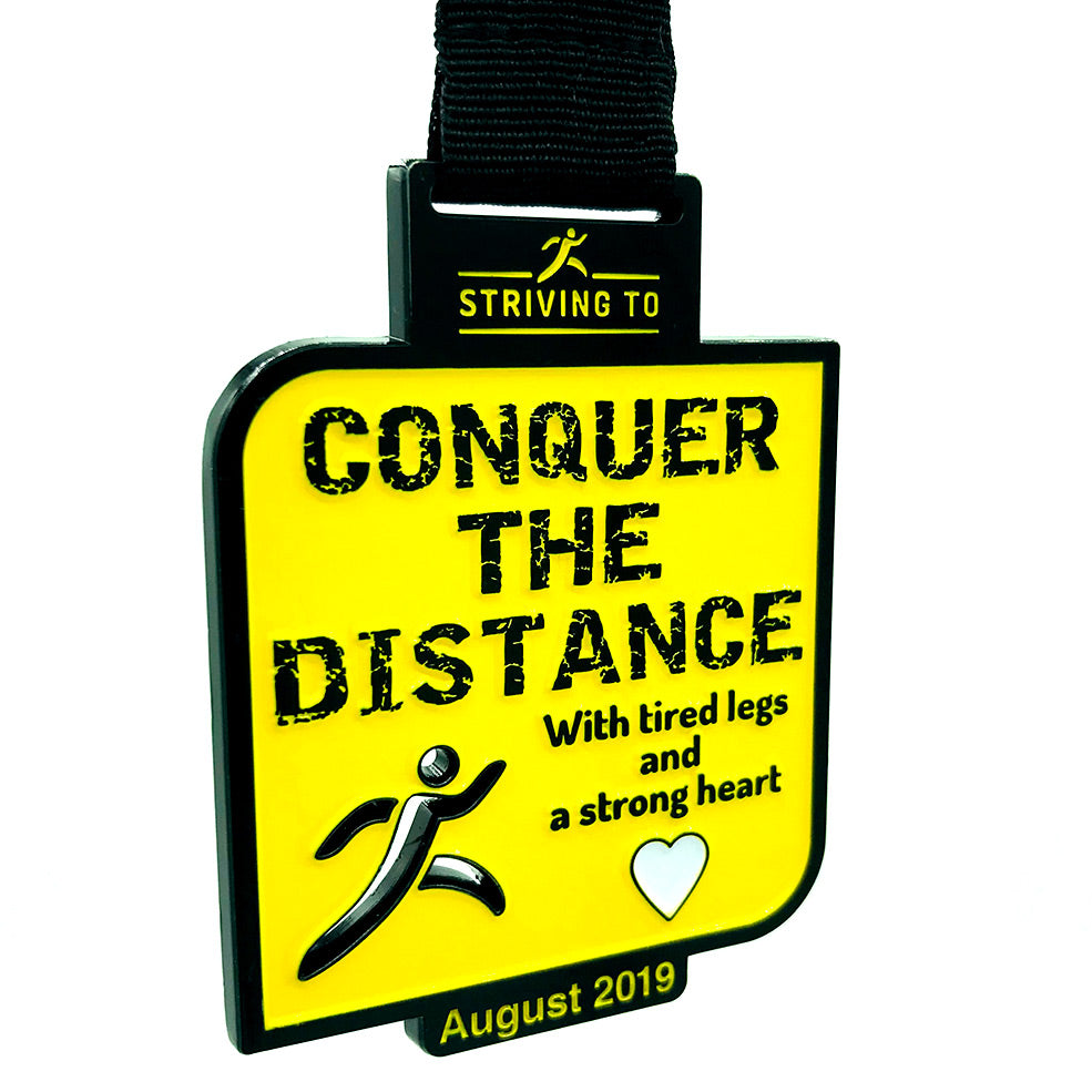 25 Miles - Striving To... conquer the distance