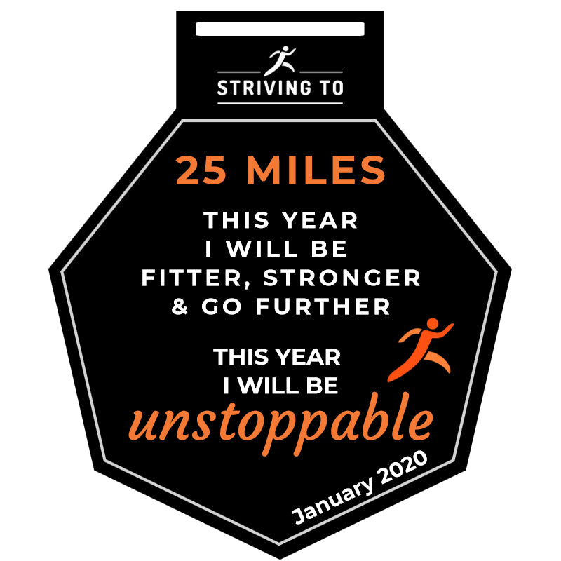 25 Miles - Striving To... Fitter, Stronger, Further