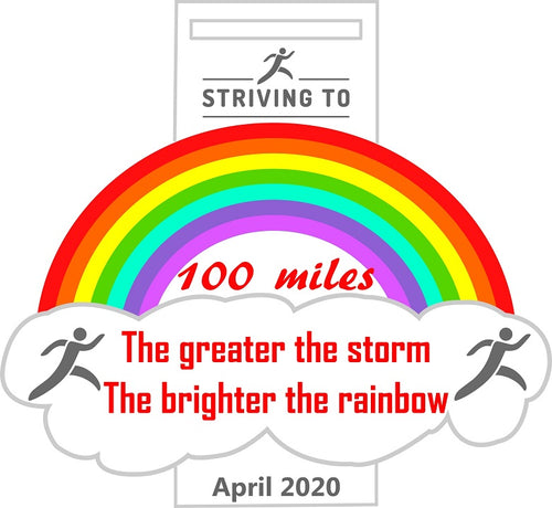 100 Miles - Striving To... Weather the storm
