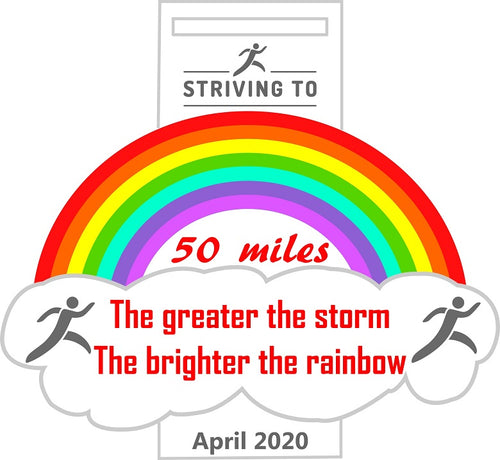 50 Miles - Striving To... Weather the storm