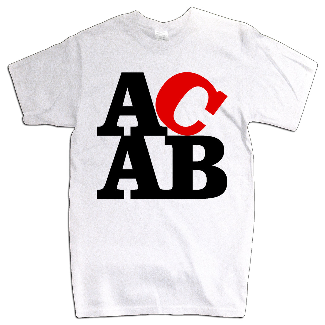 ACAB - White T-shirt