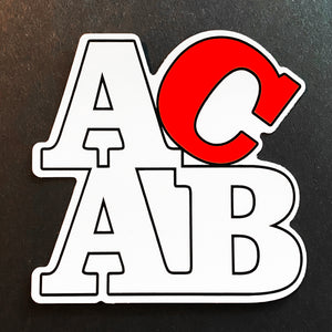 "ACAB 4"" Sticker"