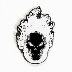 SPIRIT OF VENGEANCE Glow In The Dark Enamel Pin *green*