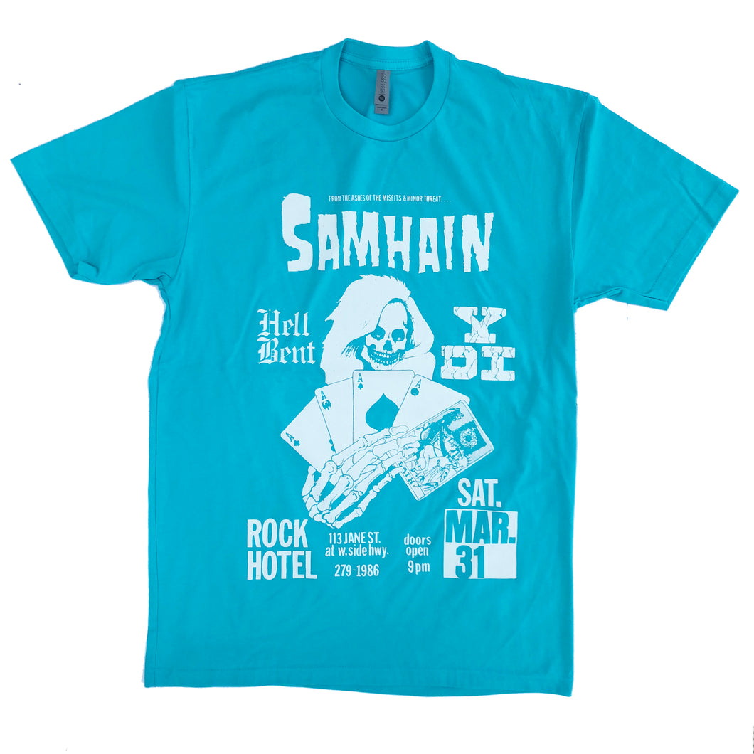 ROCK HOTEL Shirt *Tahiti Blue*