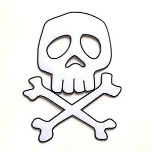 "HARLOCK - 12"" Embroidered Iron On Patch"