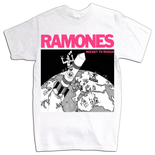 ROCKET TO RUSSIA T-Shirt - WHITE