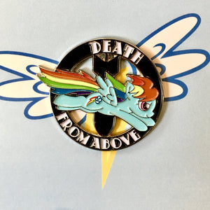 DEATH FROM ABOVE Enamel pin