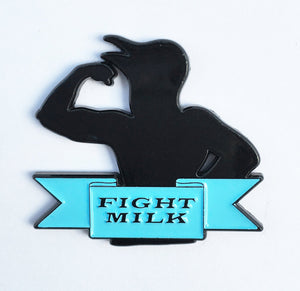 FIGHT LIKE A CROW Enamel Pin