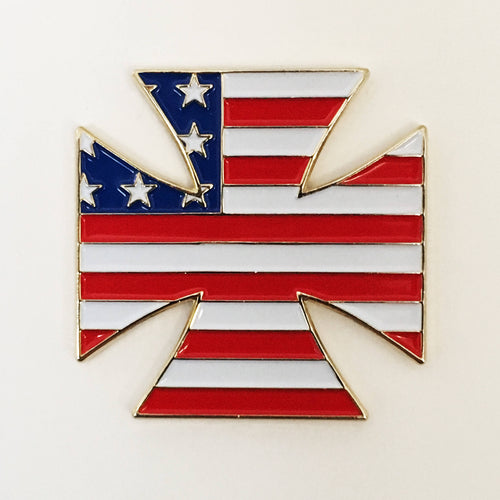 IRON CROSS Enamel Lapel Pin