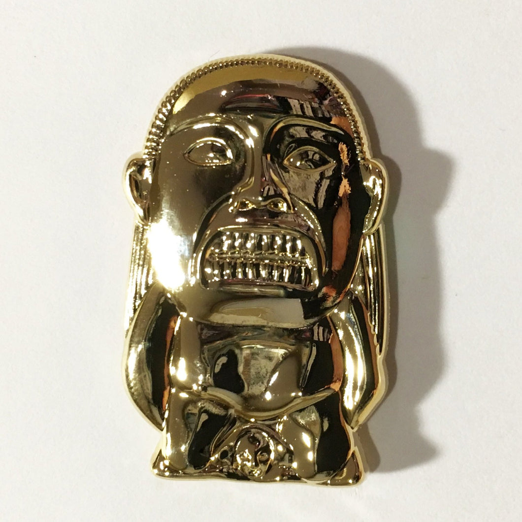 THE IDOL Gold 3D Relief Pin