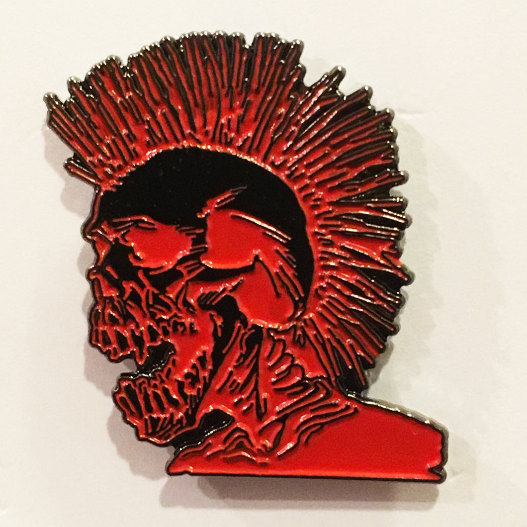 PUNKS NOT DEAD Enamel Lapel Pin