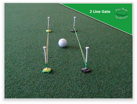 2 Line Gate Putting