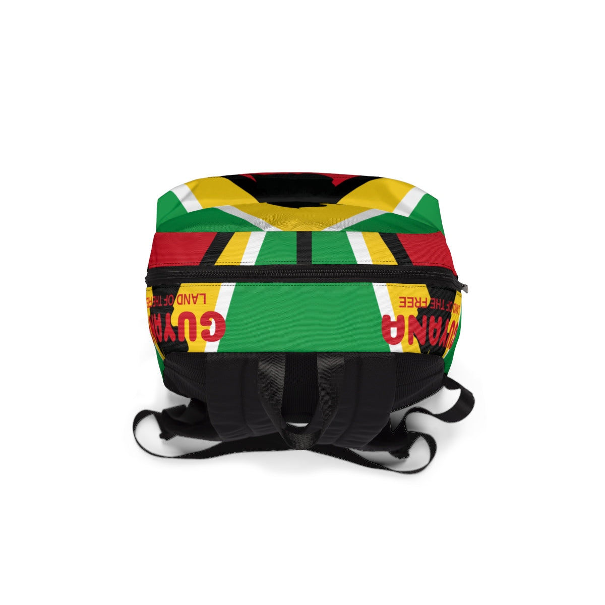 Caribbean Vibes Guyana Flag Backpack