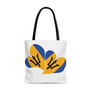 Caribbean Vibes Barbados Love Tote Bag