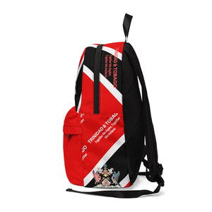 Caribbean Vibes Trinidad & Tobago Coat of Arms Backpack
