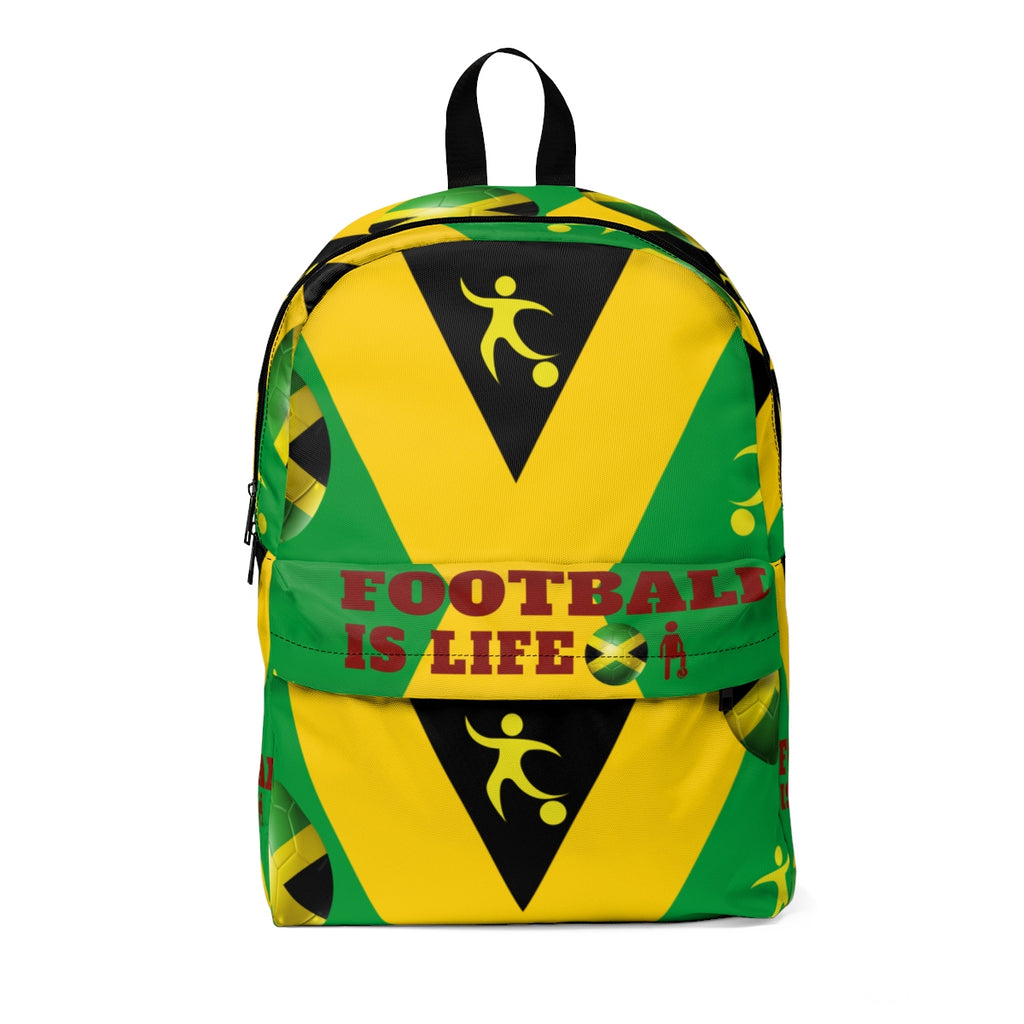 Caribbean Vibes Jamaica Football Backpack