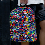 Caribbean Vibes One Love One Caribbean Flag Backpack