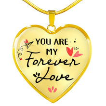 Forever Love Heart Pendant Necklace