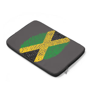 Caribbean Vibes Jamaica Flag Laptop Sleeve