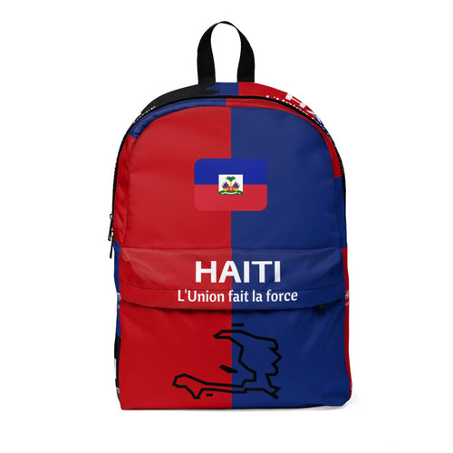 Caribbean Vibes Haiti Flag Backpack