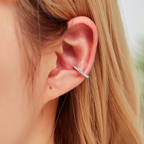Elegant Clip-on Earring Cuff Earring