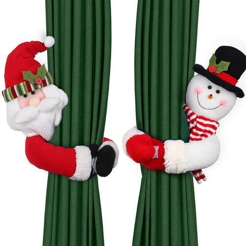 Christmas Curtain Tie Back Accessory