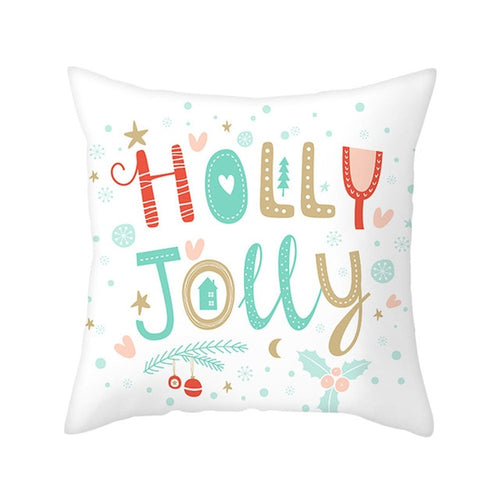 Jolly Christmas Pillow Covers