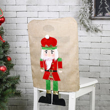 Christmas Dining Seat Back Covers