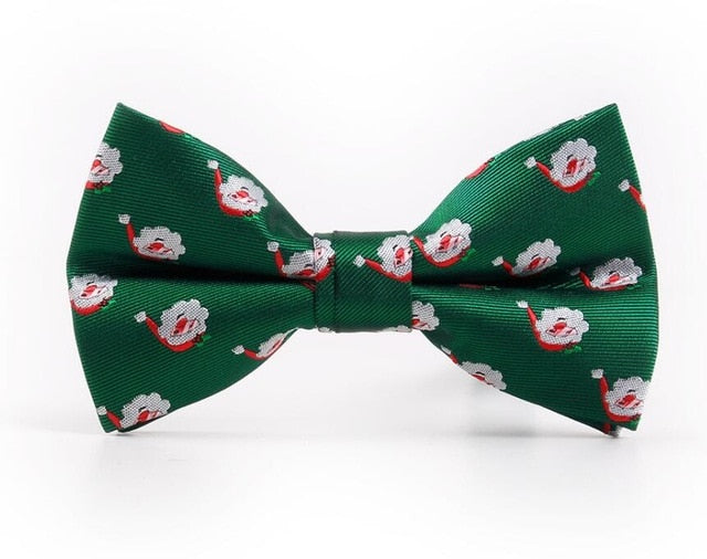 Men's Christmas Theme Bow Tie