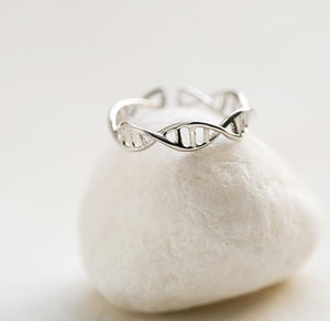 Double Helix DNA Adjustable Ring
