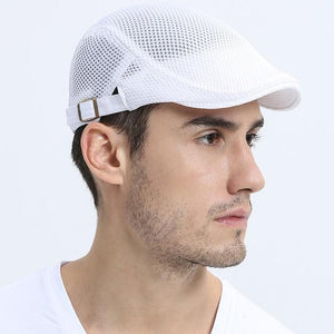 Unisex Casual Breathable Summer Newsboy Flat Cap