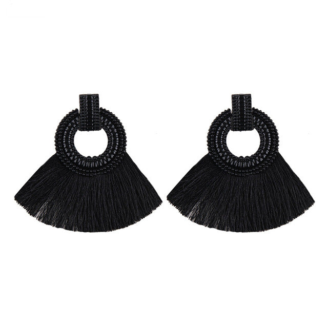 Trendy Fringe Earrings