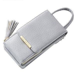 Cross-body Purse with Chain Straps