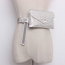 Studded Waist Belt Bag