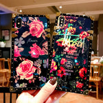 Playful Rosey iPhone Case