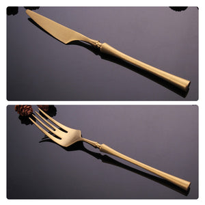 Stainless Steel Flatware in Gold or Silver finish