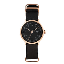 Laden Sie das Bild in den Galerie-Viewer, Harold Mini Rose/Black (Black strap)