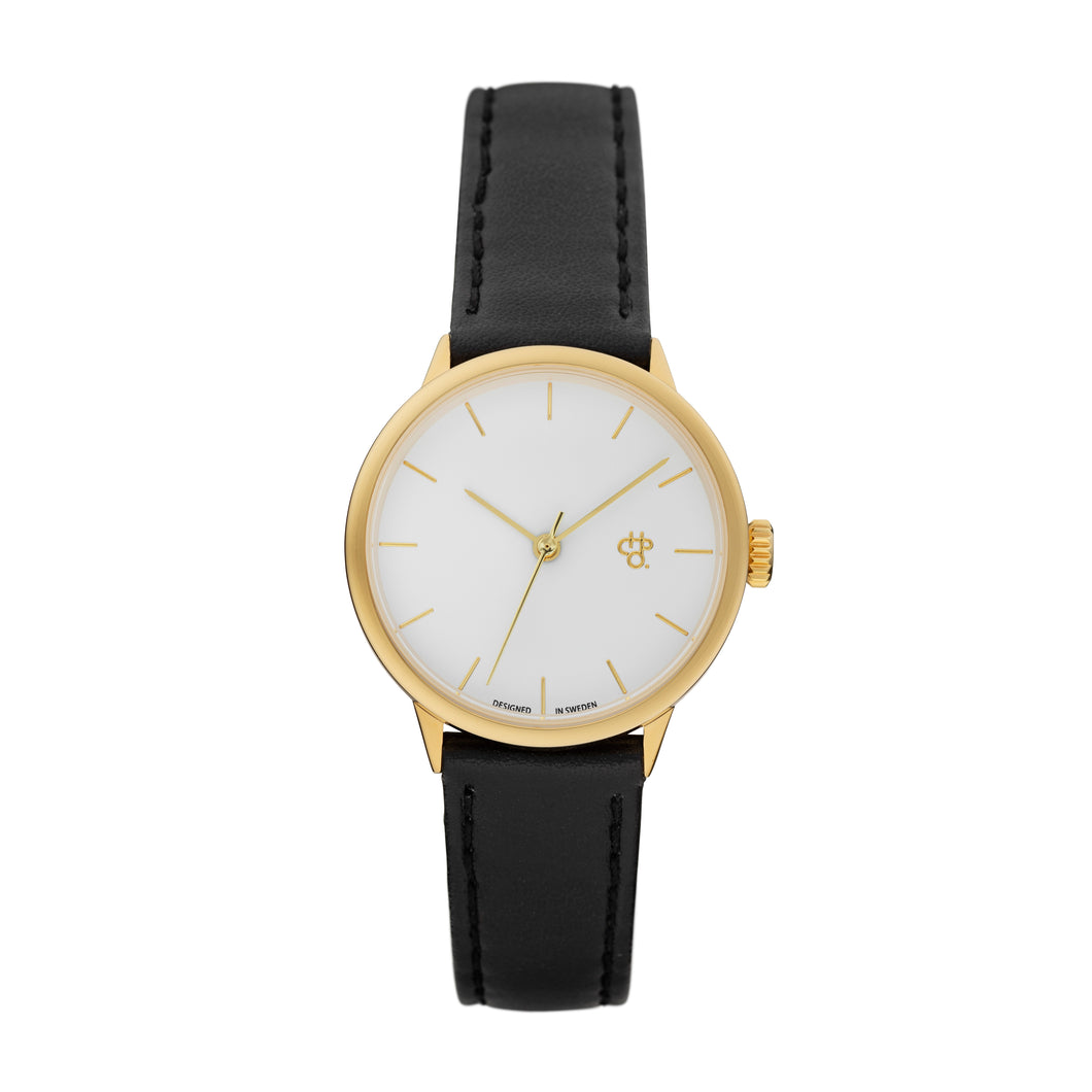 Khorshid Mini Gold (Black strap)
