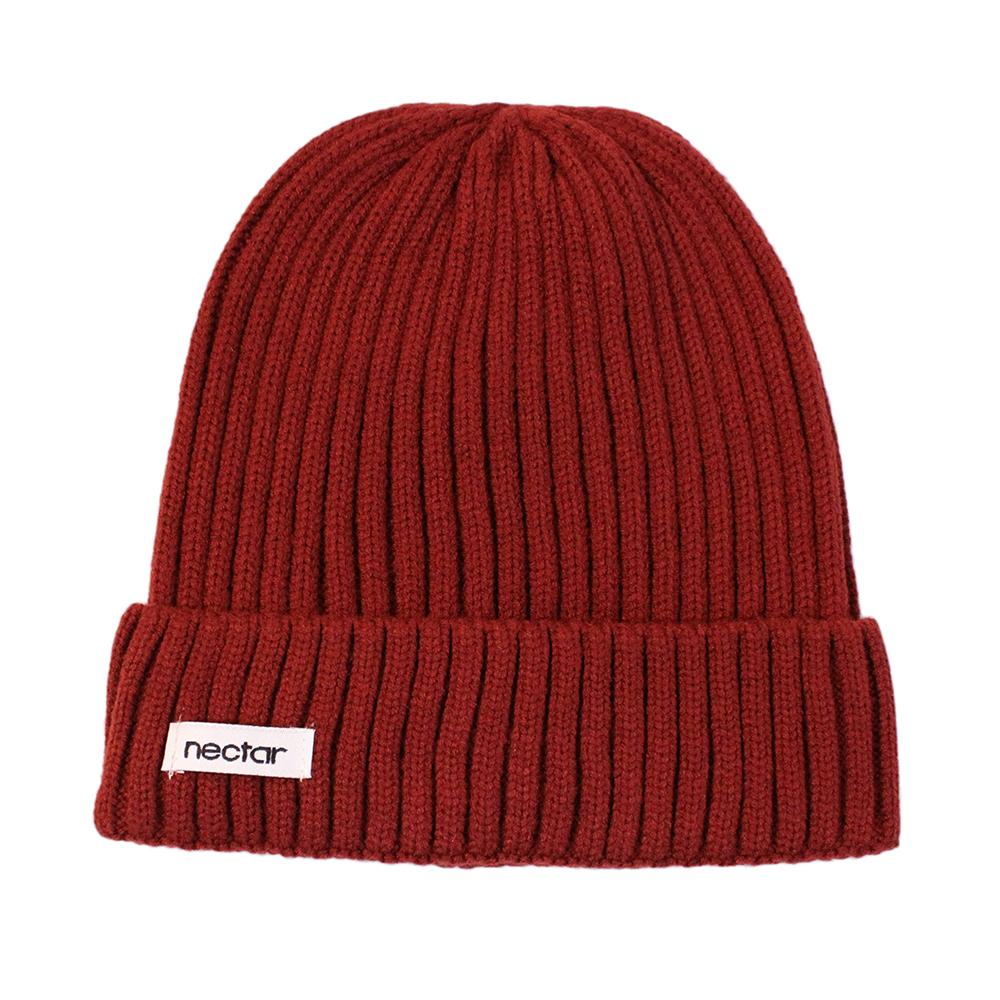 Knit Beanie (Red)