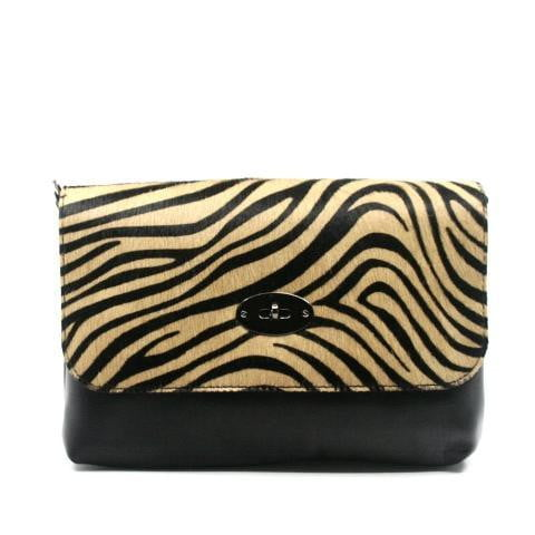Allegra Clutch leather