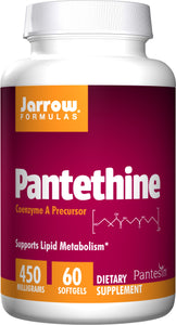 Pantethine, 450 mg, 60 Softgels