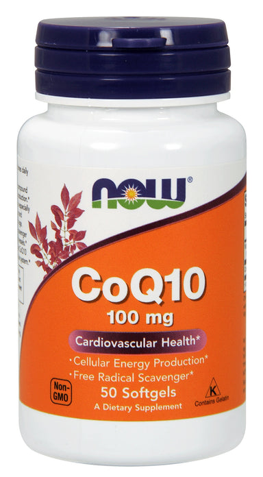 CoQ10 100 mg, 50 Softgels