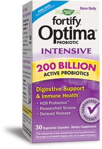Fortify™ Optima® Intensive 200 Billion Probiotic, 30 Veg Capsules