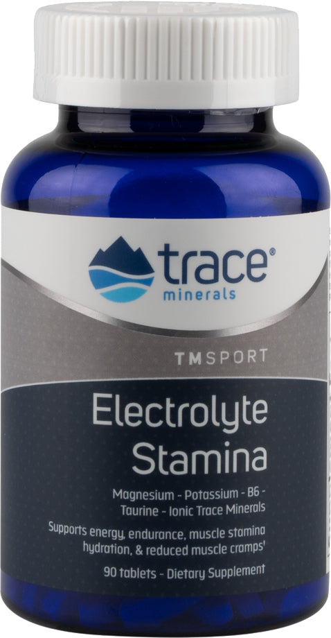 TMSport Electrolyte Stamina with Magnesium Potassium B6 Taurine and Ionic Trace Minerals, 90 Tablets