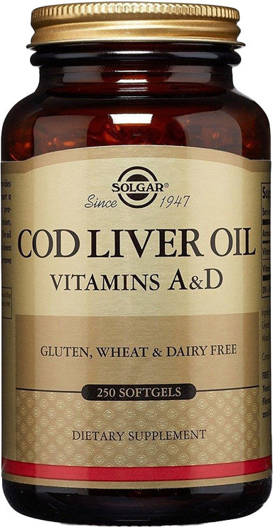 COD Liver Oil with Vitamins A & D, 250 Softgels