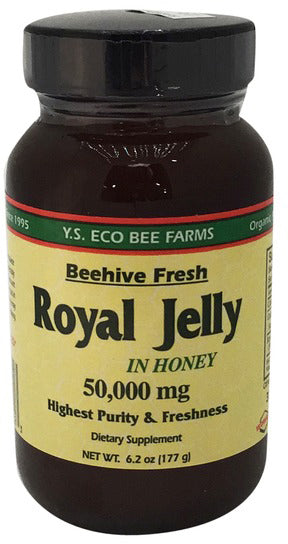 Royal Jelly in Honey, 50000 mg, 6.2 Oz (177 g) Jelly