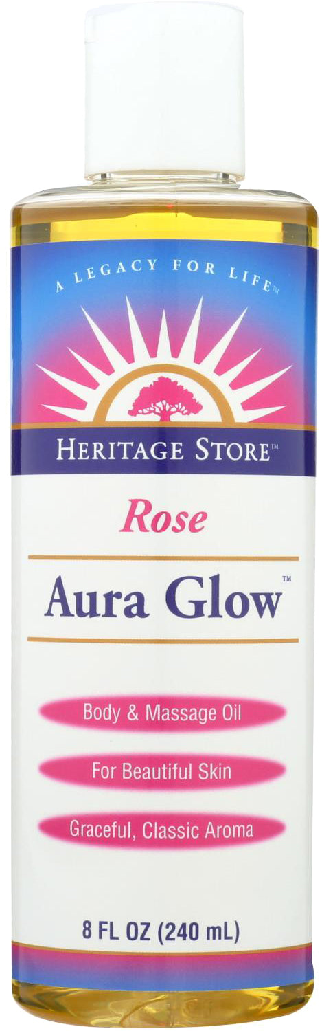 Aura Glow™, Rose Fragrannce, 8 Fl Oz (240 mL) Liquid