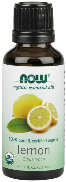 Lemon Oil, Organic, 1 fl oz.