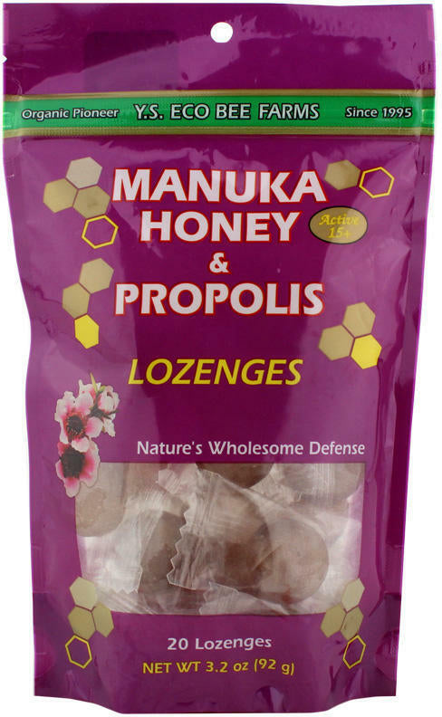Manuka Honey & Propolis, 20 Lozenges